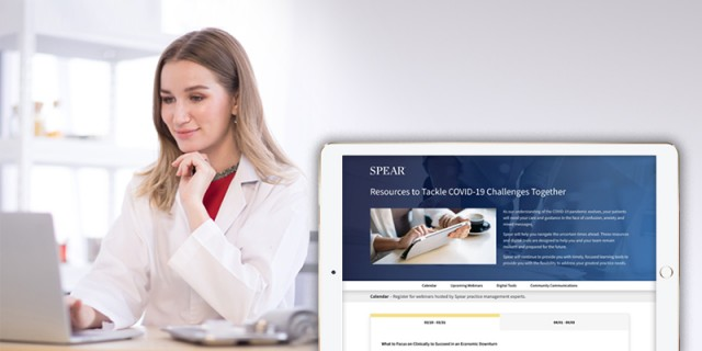 Facing Unknowns of COVID-19 Crisis, Dentists Turn to Spear for Virtual Practice Management Resources